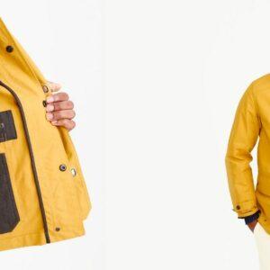 J Crew waxed cotton jacket