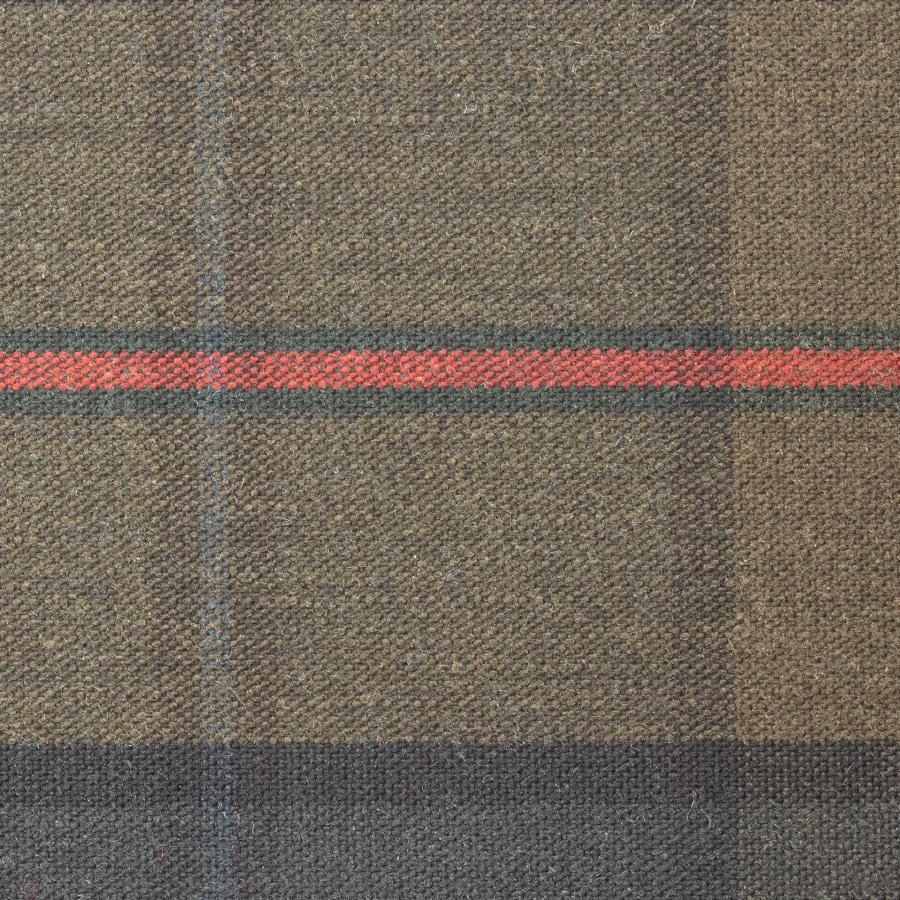 P200 Wash Wax Iona Tartan waxed cotton textile for waxed jacket, footwear, apparel and accessories