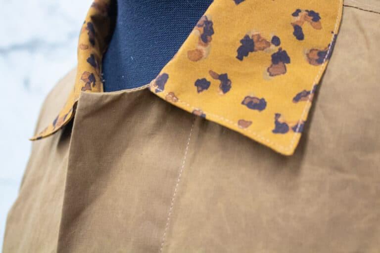 P200 Hybrid/Aero Leopard Print garment sample
