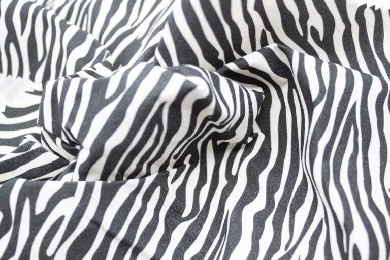 P200 Hybrid/Aero Mini Zebra Print garment sample