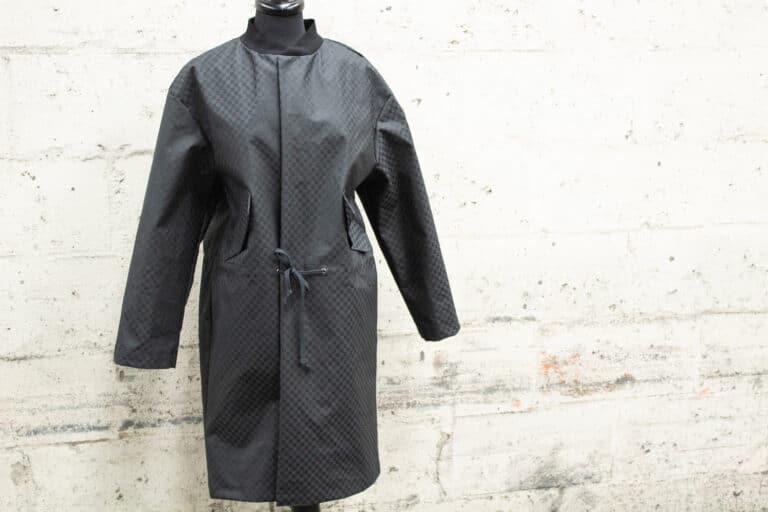 P200 Nova Checkboard garment sample