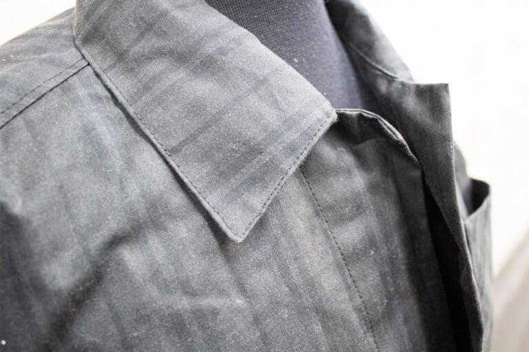 P200 Silkwax Plaid Tartan garment sample