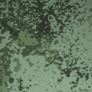 P140 Military Tempest Camo Algae waxed cotton fabric by Halley Stevensons